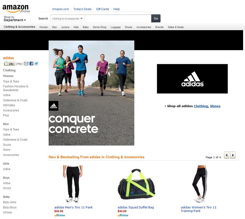 Adidas, Amazon, y la coherencia de la marca content26