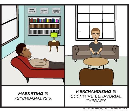 Merchandising v. marketing