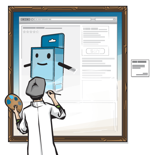online contnet as a work in progress