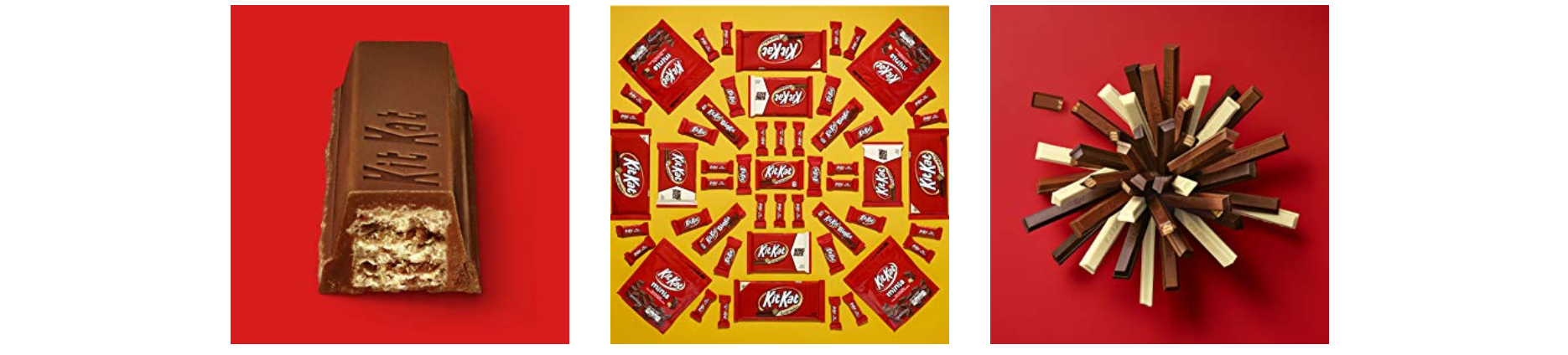Kit Kat enhanced content visuals