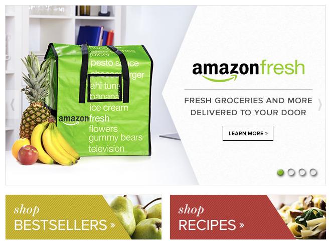 Ad for Amazon Fresh