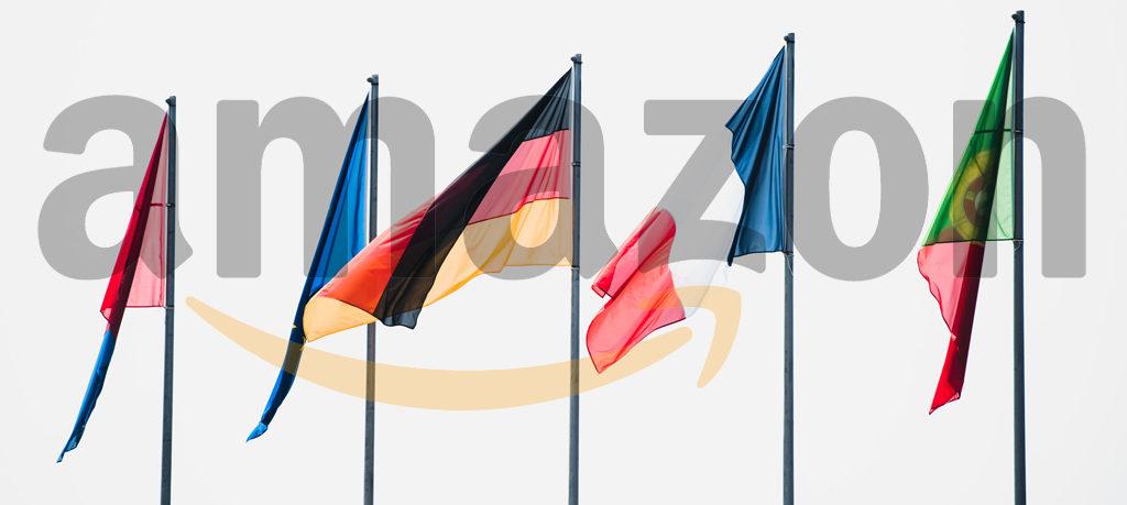 Amazon European flags