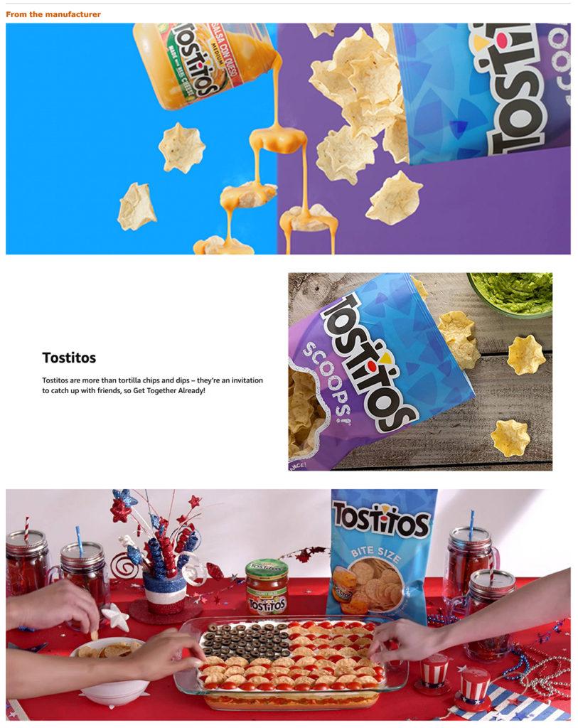 Online grocery advertising